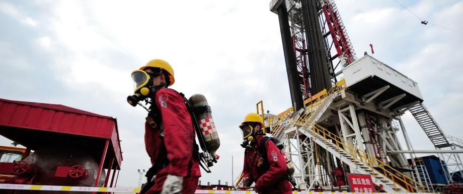 China Fracking