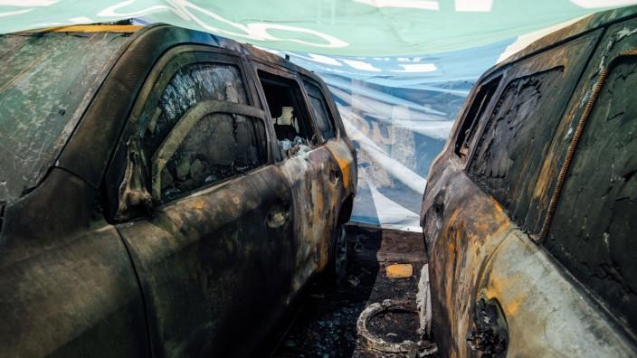Brandanschlag auf OSZE in der Ukraine