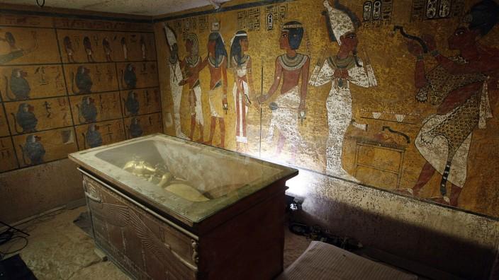 Grabkammer Tutenchamuns Ägypten Pharao
