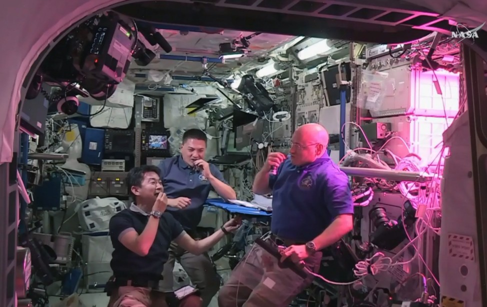 Astronauts to take first bite of space-grown lettuce