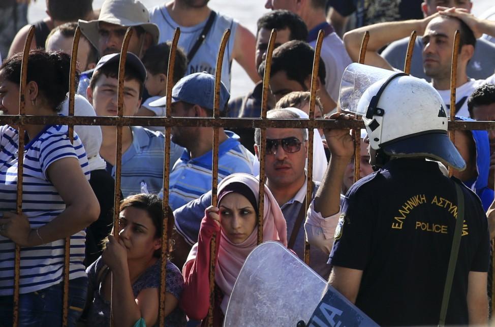 Flüchtlinge auf der griechischen Insel Kos