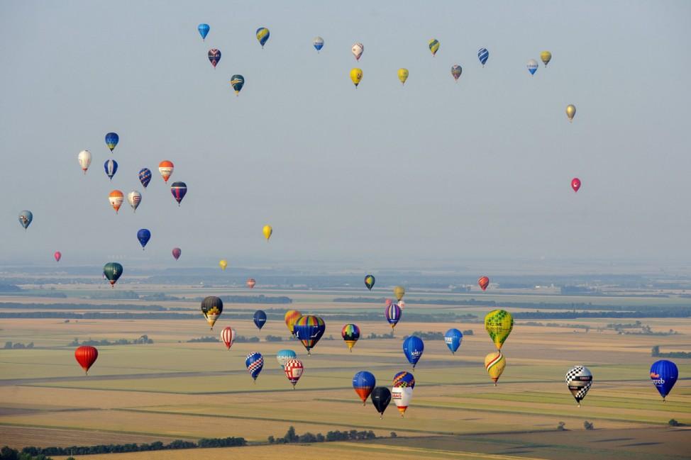 19th FAI Hot Air Balloon European Championship in Debrecen