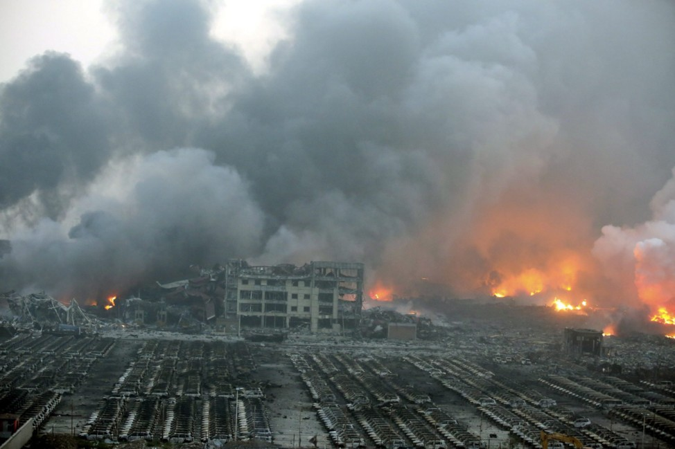 Massive explosions in Tianjin