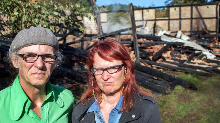 Staatsschutz ermittelt nach Scheunenbrand in Jamel