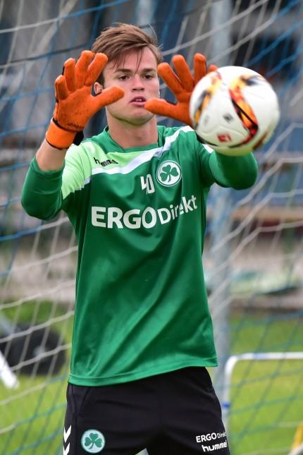 13 07 2015 Fussball 2 Bundesliga Saison 2015 2016 SpVgg Greuther Fürth Fuerth Training Tr; Torhüter Bastian Lerch SpVgg Greuther Fürth Fußball Fotograf Zink/Imago