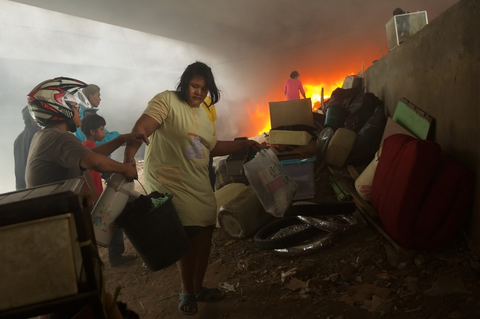 Community Living In Makeshift Housing Evicted From Highway Settlement