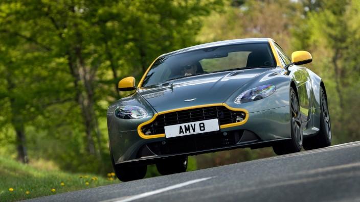 Aston Martin V8 Vantage N430 Im Test Auto Mobil Sz De