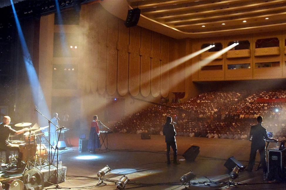 Laibach band performs in North Korea