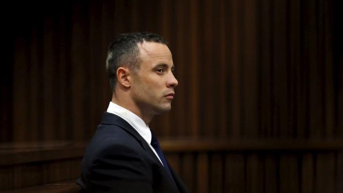 File photo of Oscar Pistorius leaving North Gauteng High Court in Pretoria