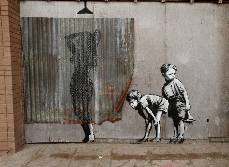 Banksy's Dismaland preview