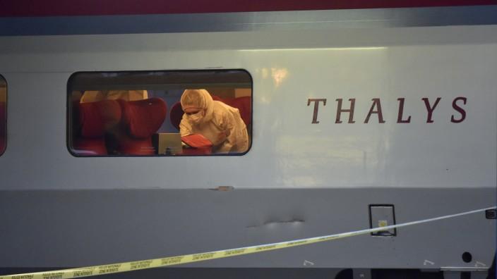 Schüsse in Thalys