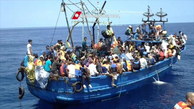 Italy leading Mediterranean Sea rescue of at least 4,000 migrants