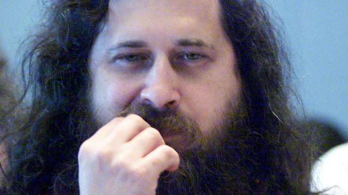 Richard Stallman im Jahr 2000.
