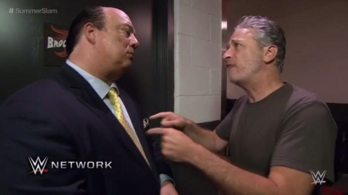 Jon Stewart als Wrestler