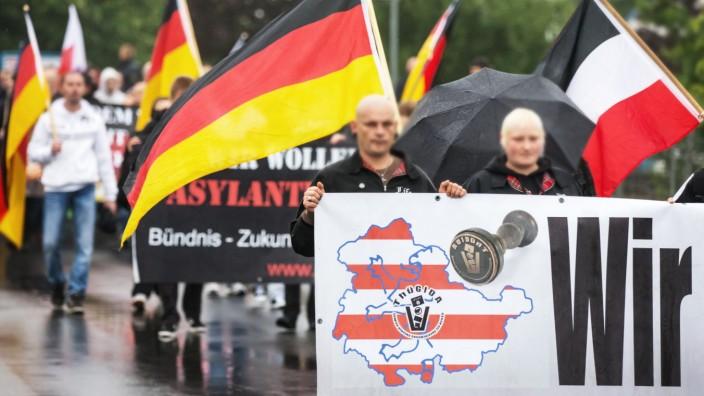 Thügida- Kundgebung in Suhl