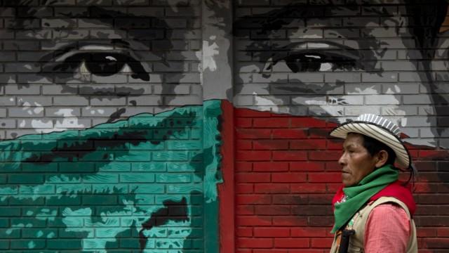 Kolumbien: 250 000 Leben kostete der Konflikt mit den Farc-Rebellen in Kolumbien. Bei Verbrechen auf dem Gebiet von Indigenen bestimmen diese die Strafe.