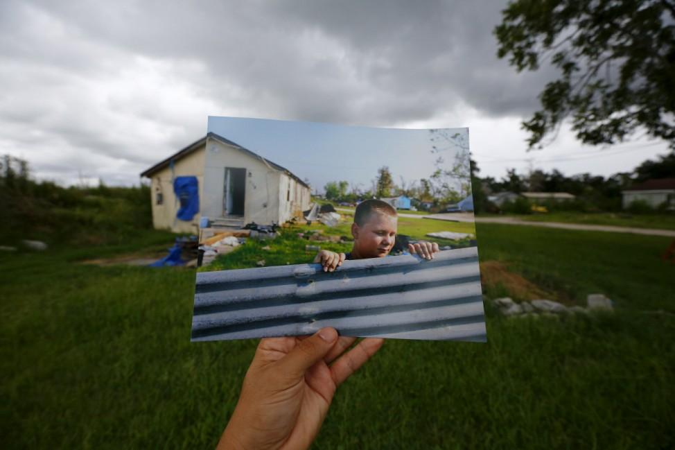 Wider Image: Katrina Scenes Overlaid - 10 Years On