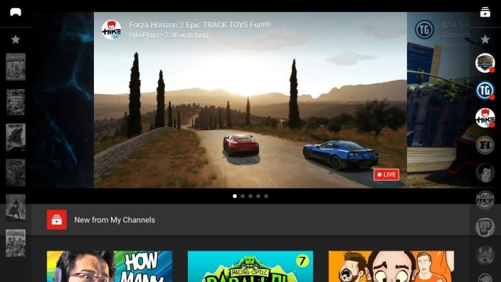 Screenshot Youtube Gaming