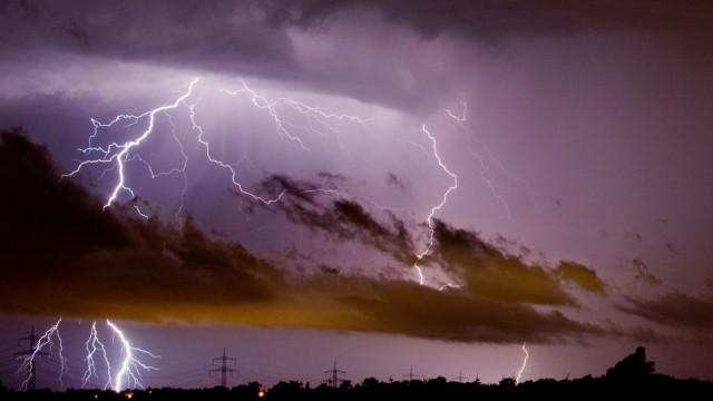 Blitzeinschläge in Deutschland