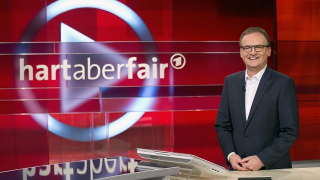 """Frank Plasberg in """"hart aber fair"""""""