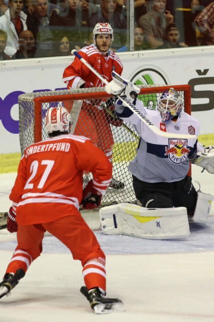 Ice hockey Eishockey CHL KAC vs RB Muenchen KLAGENFURT AUSTRIA 23 AUG 15 ICE HOCKEY CHL Cha