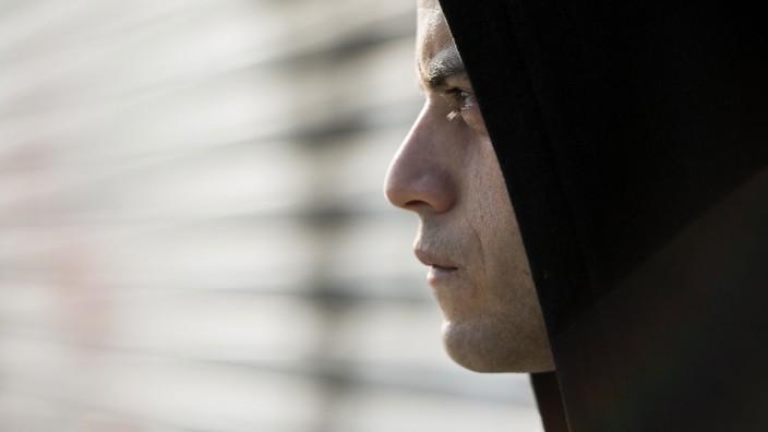 """Elliot (Rami Malek) in der US-Thriller-Serie """"Mr. Robot""""."""