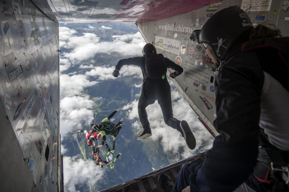 Skydiving festival Mountain Gravity