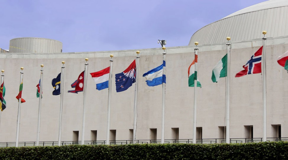 Finalisten Flagge Neuseeland