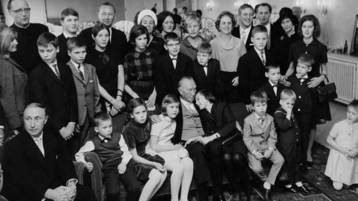 Konrad Adenauer, 5.1.1966 ßß