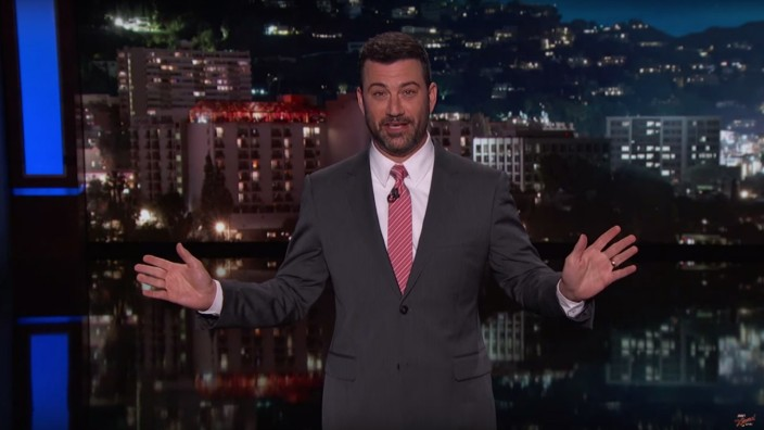 Late-Night-Show Moderator Jimmy Kimmel