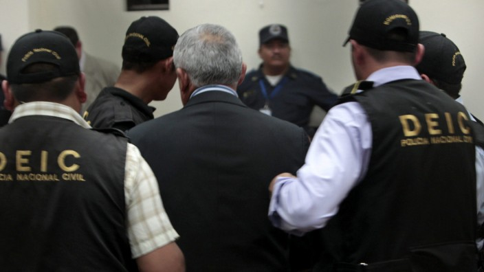 Otto Perez Molina Guatemala Gefängnis Matamoros