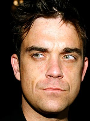 Robbie Williams. Getty Images