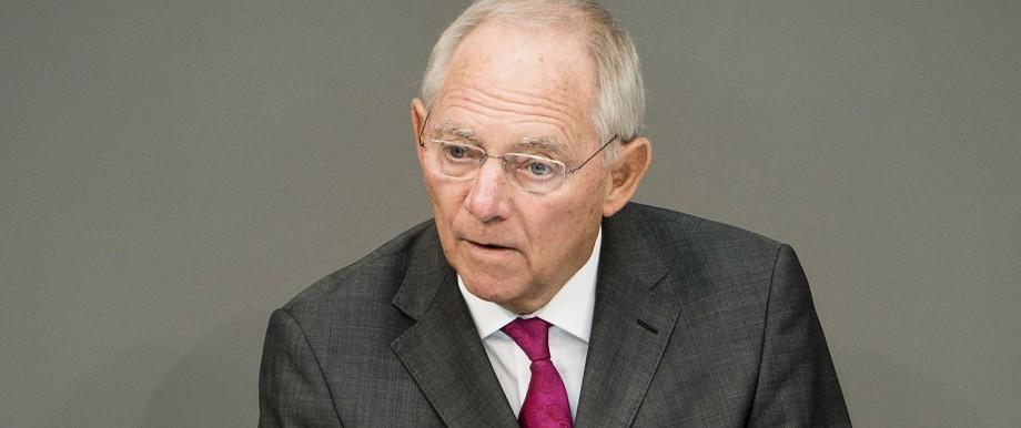 Wolfgang Schäuble Flüchtlinge