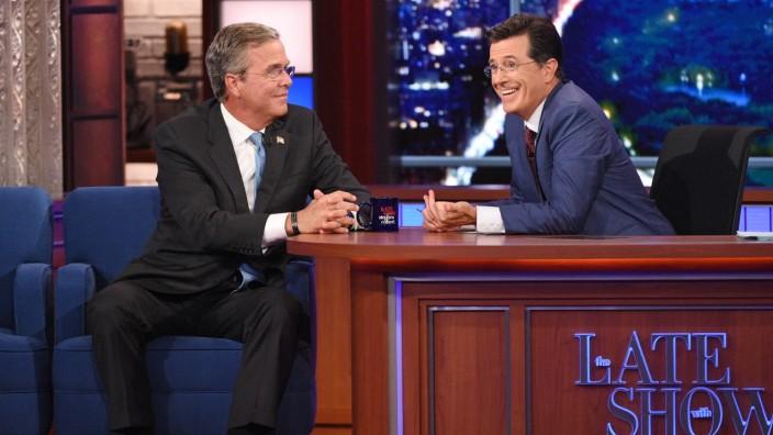 Stephen Colbert, Jeb Bush