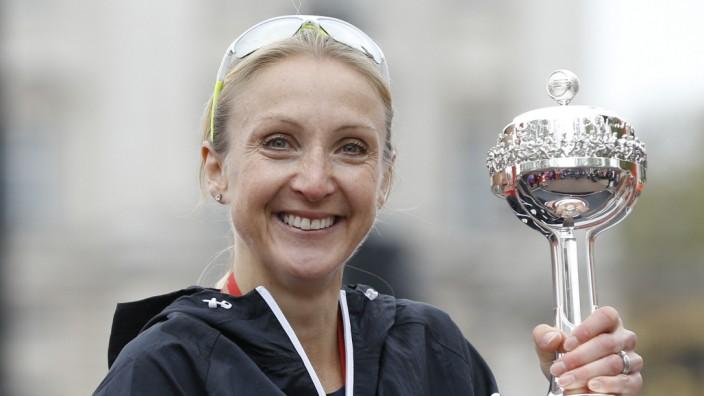 Leichtathletik: Weltrekordhalterin, Weltmeisterin und jetzt mit verdächtigen Blutwerten in Verbindung gebracht: Paula Radcliffe, ehemalige britische Langstreckenläuferin.