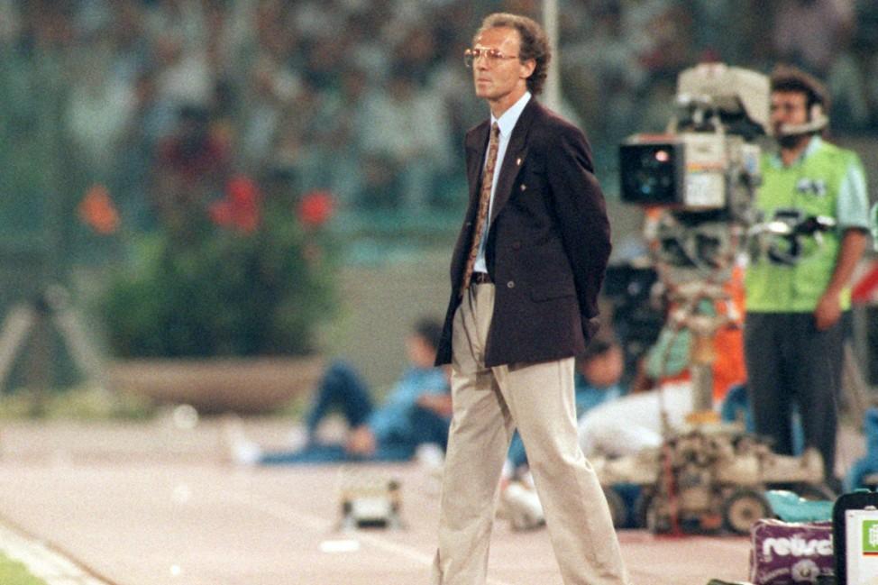 Franz Beckenbauer - WM 1990