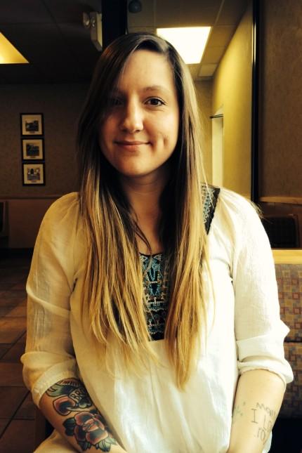 Kimberly Shepherd, junge Mutter aus Harlan County in Kentucky