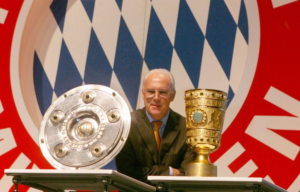 Franz Beckenbauer - Jahresversammlung FC Bayern München