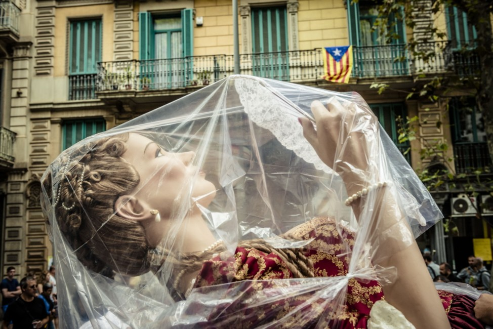 The 'Diada' 2015, Catalonia's national day is underway