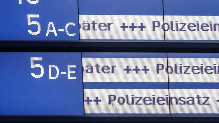 Bahnverkehr am Hamburger Bahnhof eingestellt