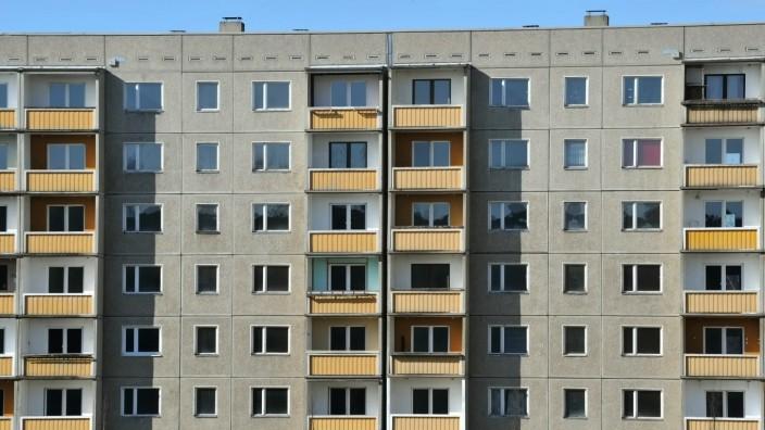 Leerstehender Wohnraum in Dresden