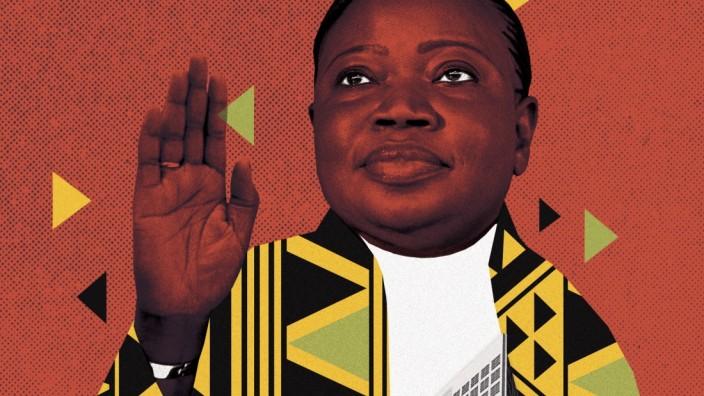 Weltstrafgericht: Vor 17 Jahren war Fatou Bensouda Justizministerin in ihrer Heimat Gambia.
