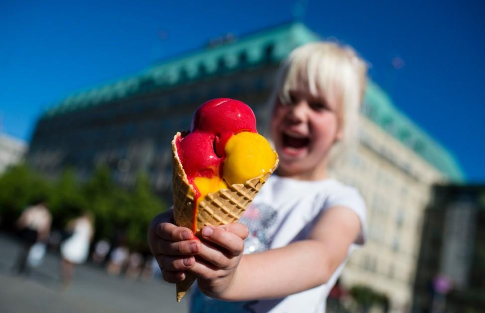Sommerwetter in Berlin