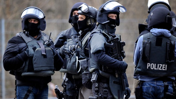 Spezialeinsatzkommandos (SEK) der Polizei