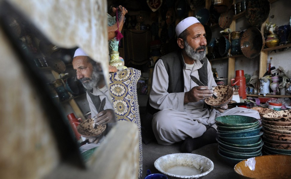 Afghanistan pottery industry witnessing slow decline in business