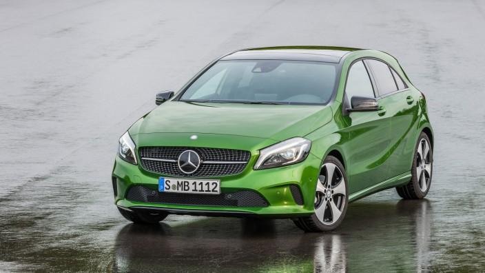 Mercedes senkt Einstiegspreis für überarbeitete A-Klasse