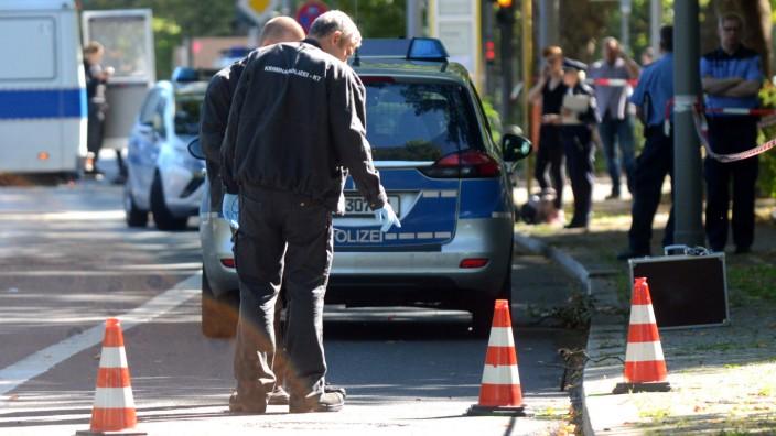 Polizei erschießt Mann nach Messerattacke
