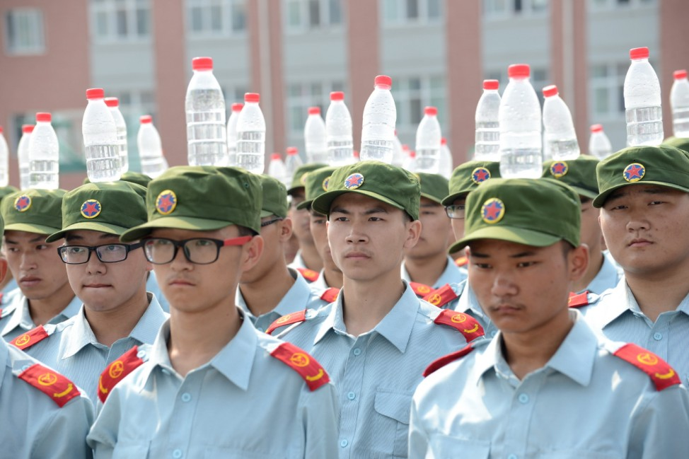 Military Training For Freshmen In Zhengzhou