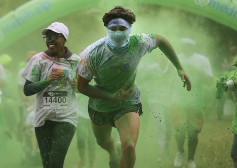 Colour Run in Johannesburg