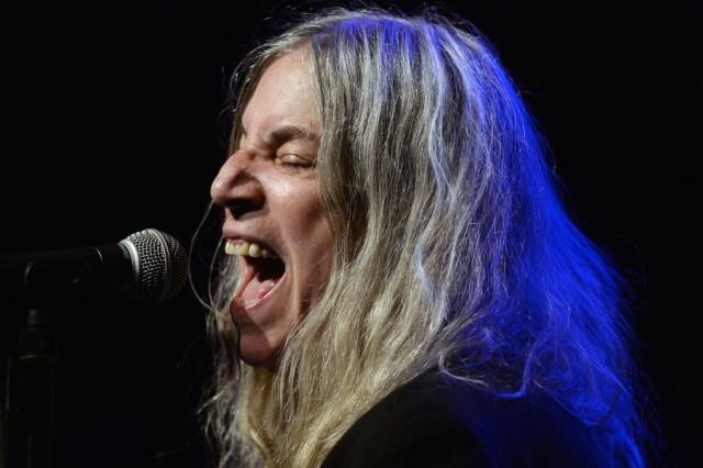 Patti Smith in concert